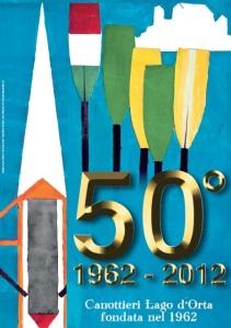 Il manifesto del Cinquantesimo creato da Mauro Maulini